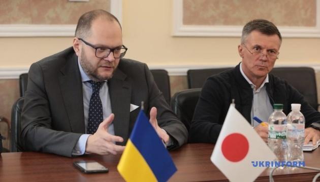 Бородянский обсудил с послом Японии подготовку к Олимпиаде-2020