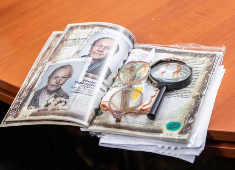 """Зеленский с супругой открыли в ОП выставку """"История сквозь лица"""""""