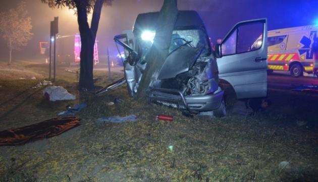 В результате ДТП в Венгрии пострадали десять украинцев