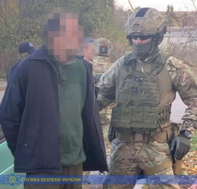 Агента ФСБ задержали в Украине с секретными военными документами