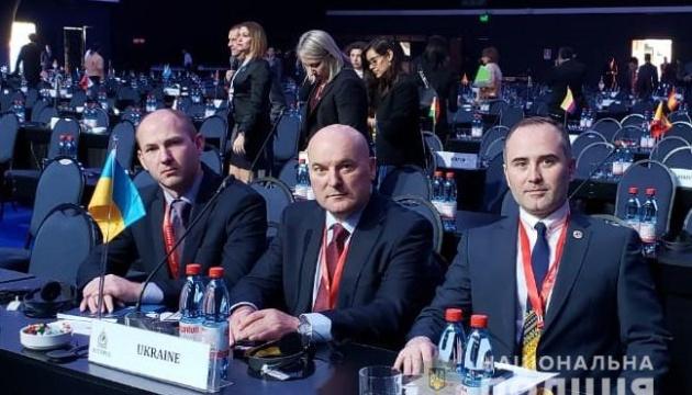 Украинские копы приехали на Генассамблею Интерпола