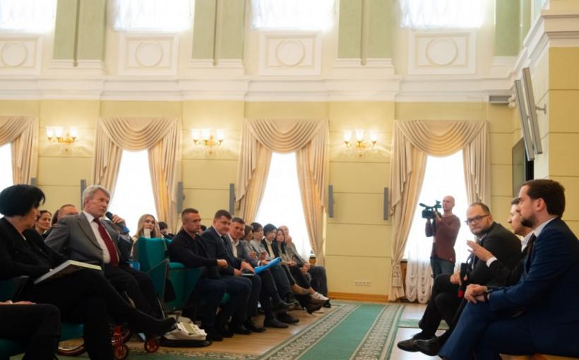 Зеленский убежден, что культура, наука и спорт могут способствовать объединению Украины