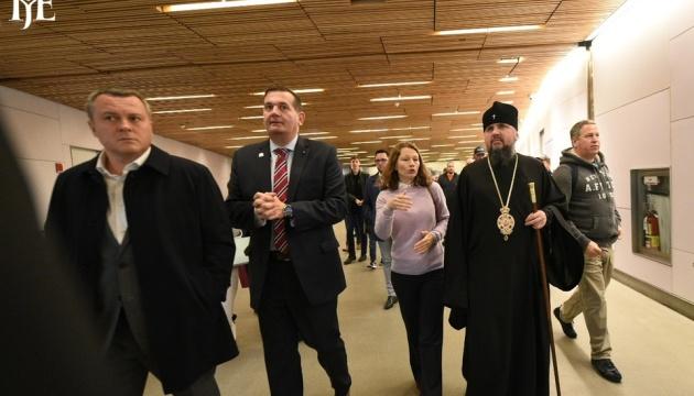 Епифаний с делегацией ПЦУ прибыл в США