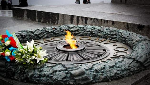 В Украине отмечают 75-ю годовщину освобождения от нацистов