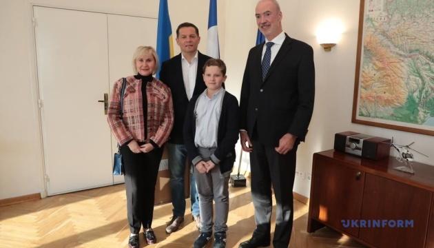 Сущенко встретился с послом Франции
