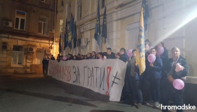 Дело Гладковского: Нацкорпус под судом требует арестовать экс-чиновника