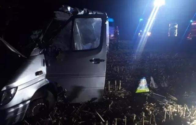 Украинские заробитчане попали в ДТП в Чехии