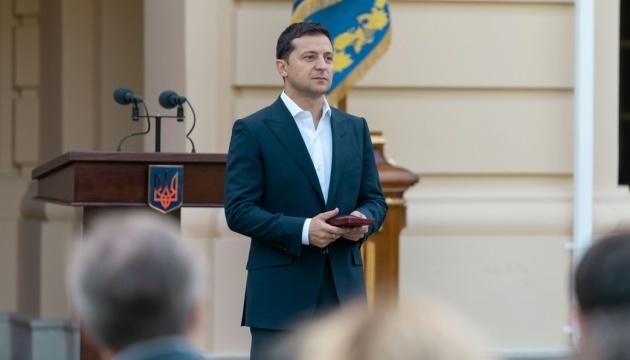 Перед Днем защитника Зеленский обратился к участникам акций и силовикам