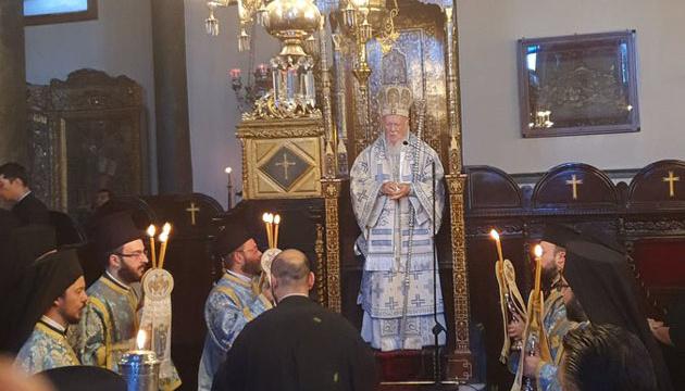Варфоломей поздравил ПЦУ с ее признанием Греческой церковью