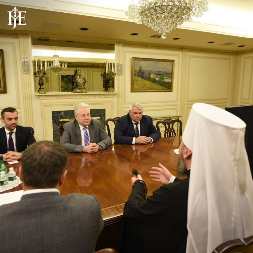 Украинские дипломаты поздравили ПЦУ с признанием Элладской церковью