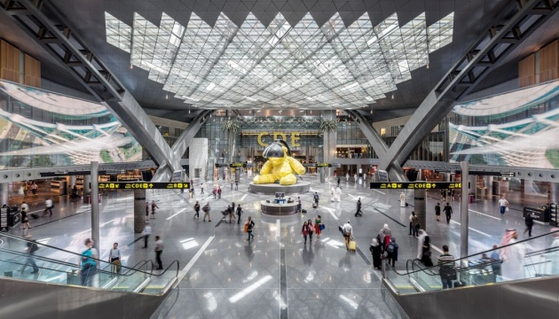 #KyivNotKiev: теперь и в аэропорту Катара