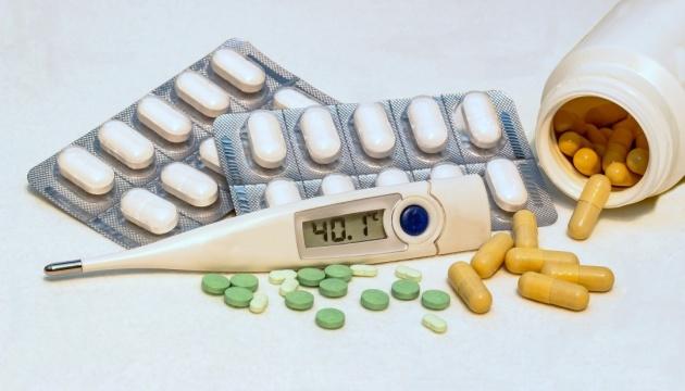За неделю гриппом заболели почти 160 тысяч украинцев