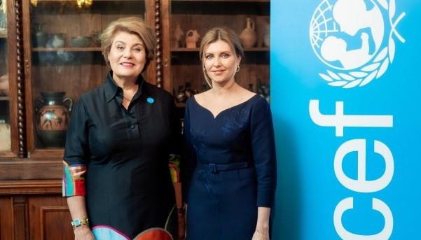 Буллинг и школьное питание: Зеленская встретилась с главой представительства ЮНИСЕФ
