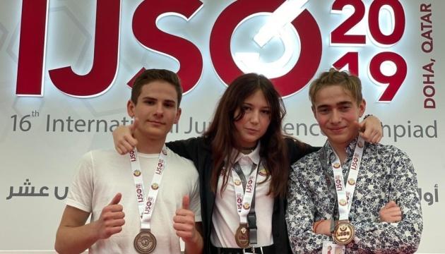 Украинские школьники завоевали три бронзовые медали на Международной олимпиаде