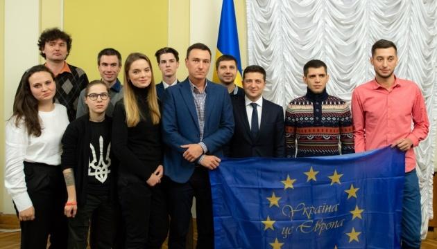 Президент встретился с участниками Евромайдана