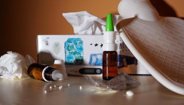 За два месяца гриппом и ОРВИ переболели 3,5% украинцев