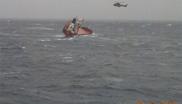 В Эгейском море терпит бедствие судно с украинским на борту