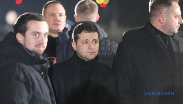 Зеленский заверил, что передача экс-беркутовцев никак не повлияет на дела Майдана