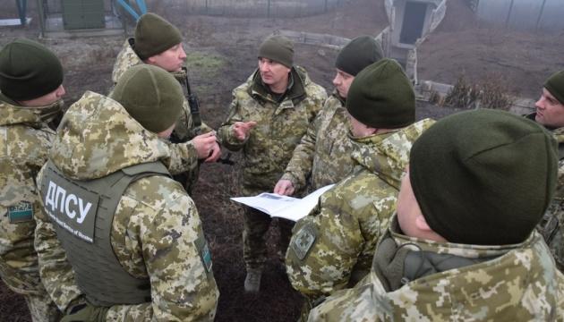 Глава ГПСУ проверил обустройство границы на участке с Россией