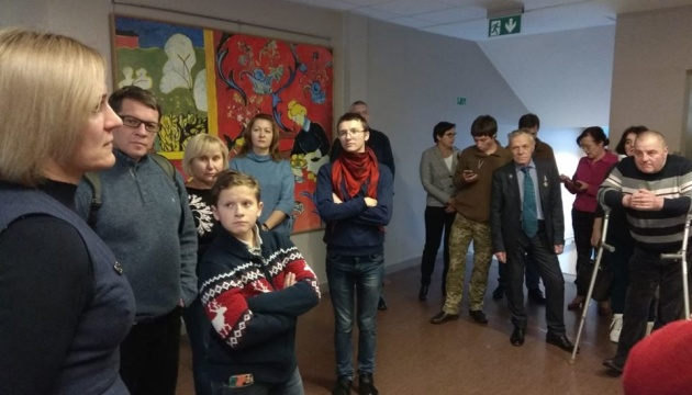 Бывшие узники Кремля посетили город Огре в Латвии