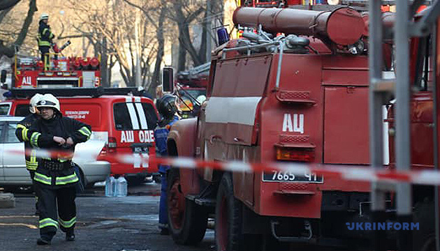 Разумков объявил минуту молчания из-за пожара в одесском колледже