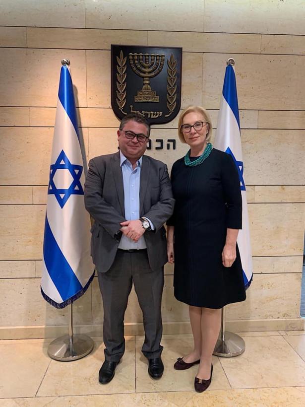 Денисова обсудила в Иерусалиме ратификацию соглашения о соцобеспечении