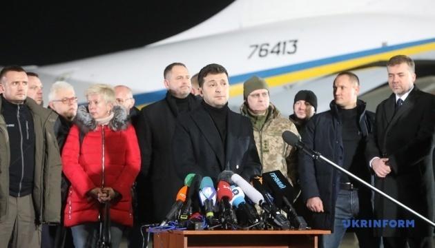 Шесть человек, которых вернули Украине, остались на неподконтрольной территории