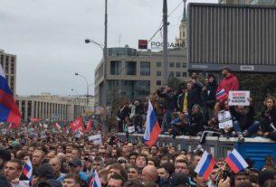 Россия, протесты