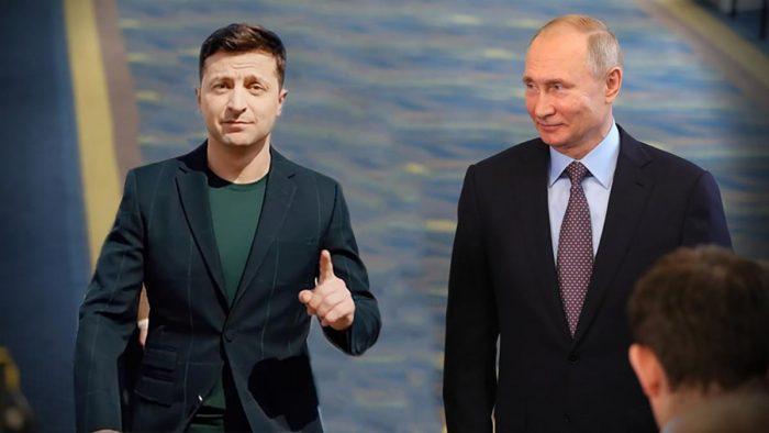 Зеленский, Путин