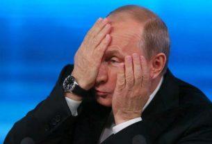 Владимир Путин в недоумении.