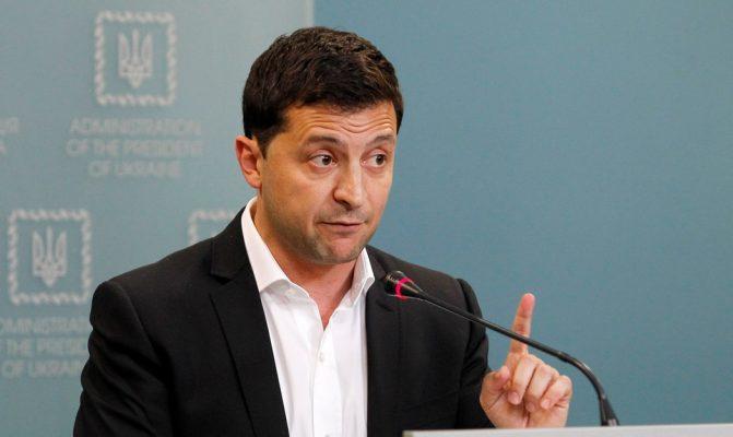 Владимир Зеленский: Минские соглашения нужно пересмотреть.
