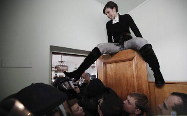 Татьяна Чорновол - главная скандалистка украинской политики.