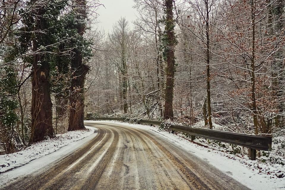 Дорога зимой