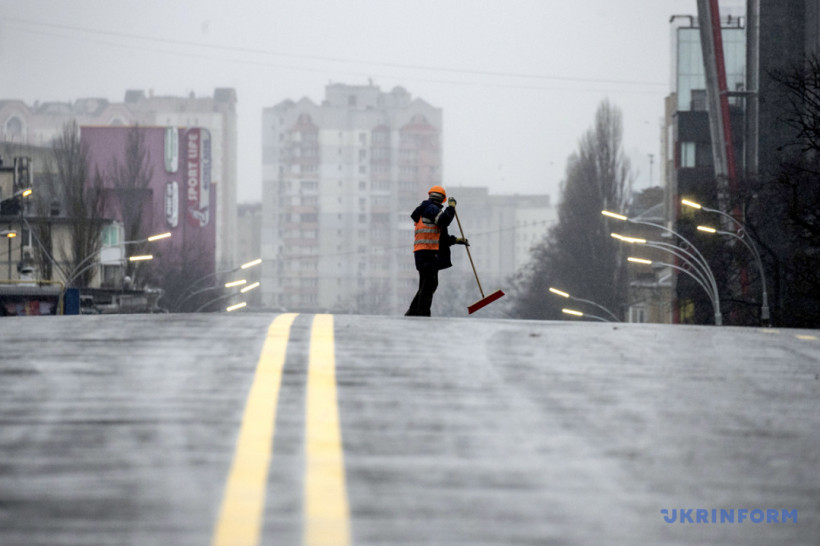 Обмен на Донбассе, Шулявский мост после отдыха и новогодние огни
