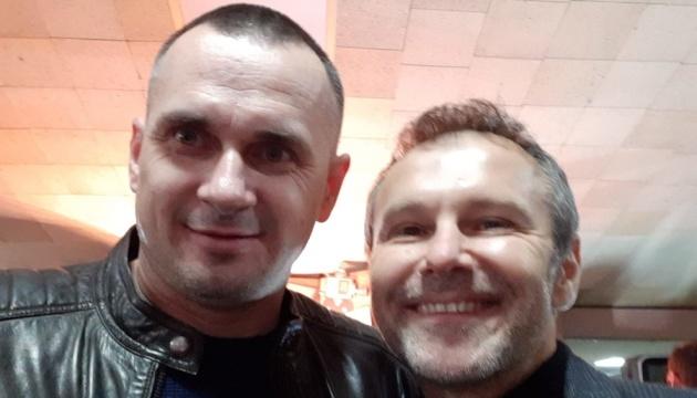 Святослав Вакарчук и Олег Сенцов.