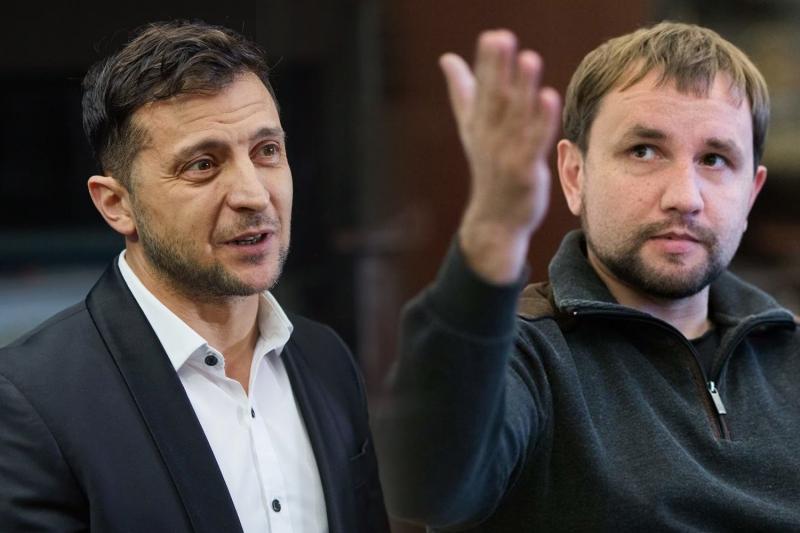 Владимир Зеленский и Владимир Вятрович