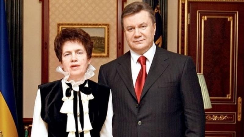 Людмила и Виктор Януковичи