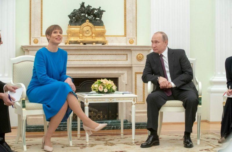 Путин и глава Эстонии
