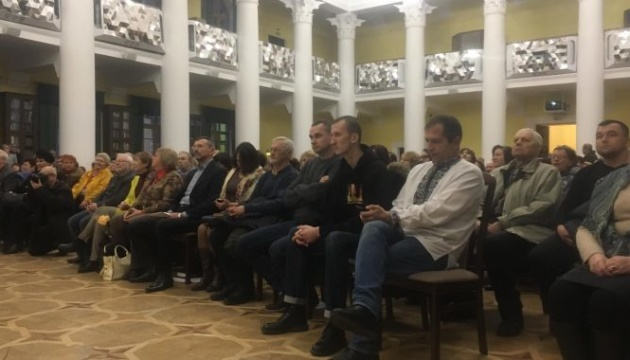 Сенцов, Кольченко и Балух принимают участие в Вечере рождественских Василиев