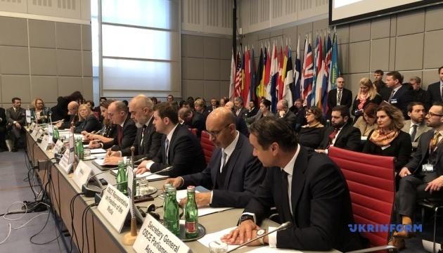 Заседание Постсовета ОБСЕ началось с соболезнований родным жертв катастрофы самолета МАУ