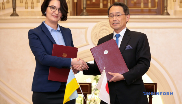 Япония профинансирует в Украине шесть проектов в области здравоохранения на $340 тысяч