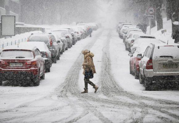 5 февраля в Украину пришла зима.