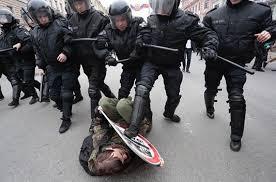 Полиция России в действии.
