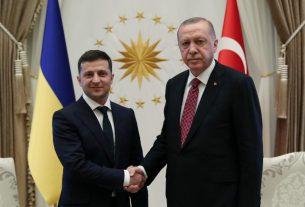 Зеленский и Эрдоган