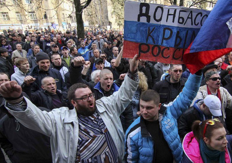 жители оккупированного Донбасса