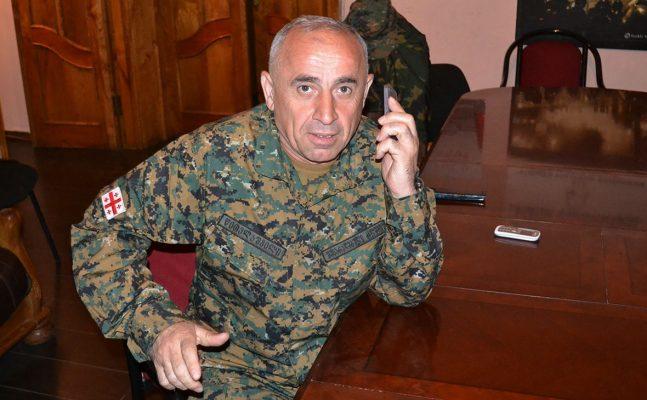 Генерал Тристан Цителашвили.