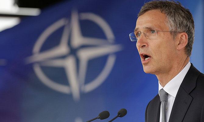 Генеральный секретарь НАТО Йенс Столтенберг.
