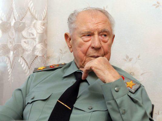Маршал Советского Союза Дмитрий Язов.