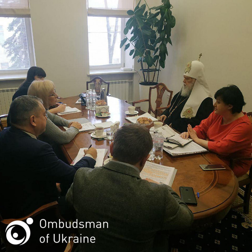 Филарет пожаловался Денисовой на ликвидацию УПЦ КП
