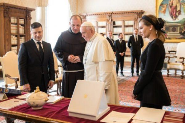 Встреча Зеленского с Папой Римским.